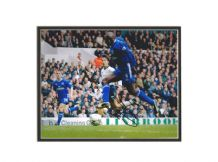 Jimmy Floyd Hasselbaink Autograph Photo - Chelsea